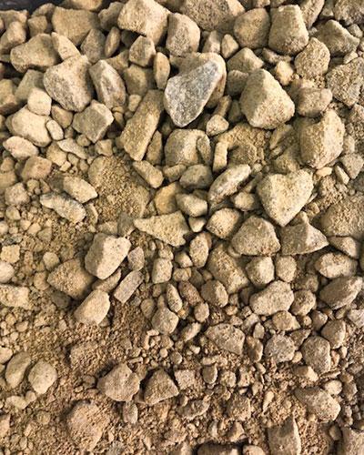 Amber-gravel