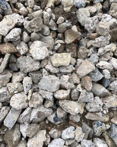 Crushed-concrete